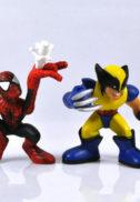 Statuete Marvel - Iron Man, Spider-man, Wolverine...