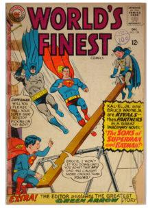 World's Finest 154, batman si superman