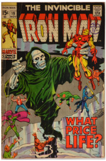 Iron Man 19 banda desenata
