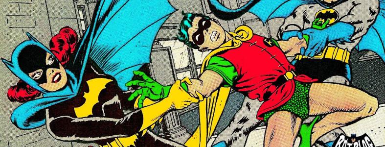 Benzi desenate vechi Batman Silve Age
