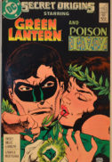 Origini Green Lantern si Poison Ivy, benzi desenate