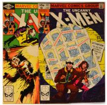 Vand X-Men 141 si 142 benzi desenate