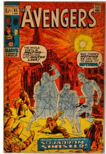 The Avengers 85 benzi Desenate VEchi