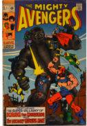 Banda desenate Avengers 69 veche