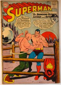 Superman pierde in fata lui Luthor