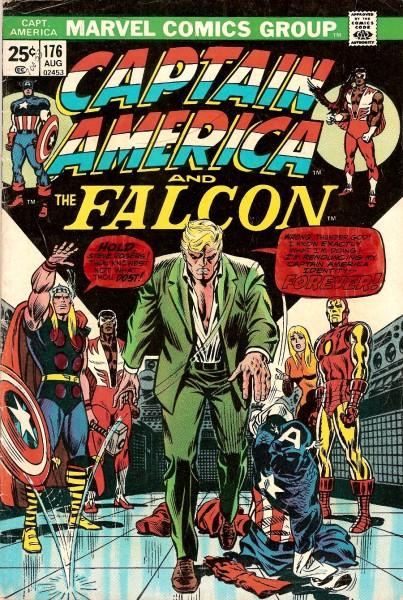 Coperta Captain America Romita