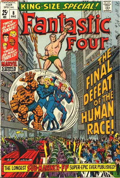 Coperta banda Fantastic Four