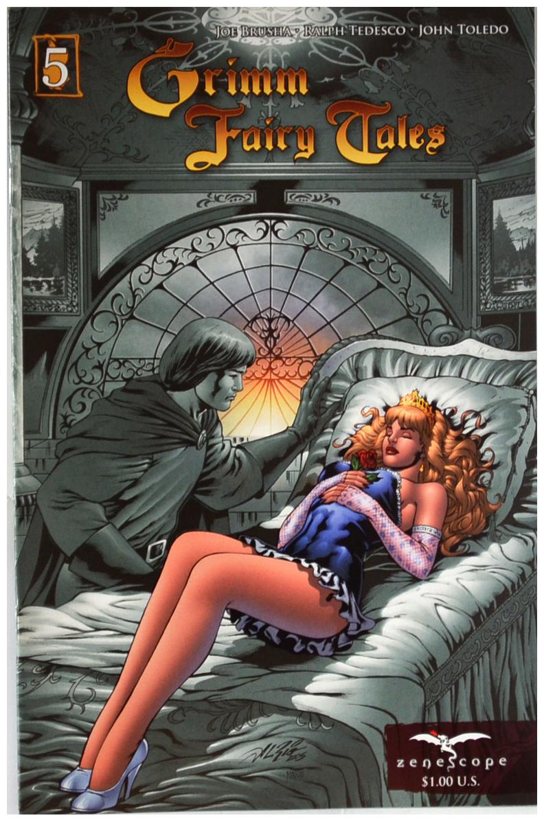 Grimm Fairy Tales Coperta