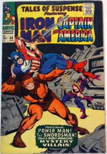 Iron Man si Captain America 88