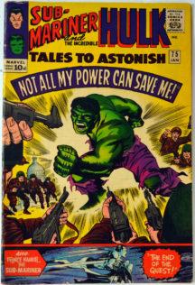 Tales to Astonish 75 Hulk