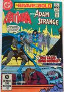 Batman adam Strange Bold Brave