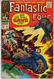 Blastaar si Fantastic Four Prima Aparitie