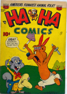 Ha ha comics gold age