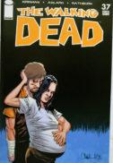 Lori si Rick coperta Walking Dead