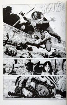 Michonne lupta Guvernatorul