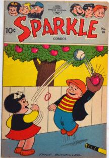 Benzi desenate vintage Sparkle