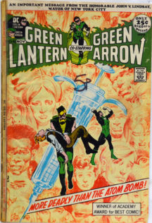 Benzi desenate droguri green arrow