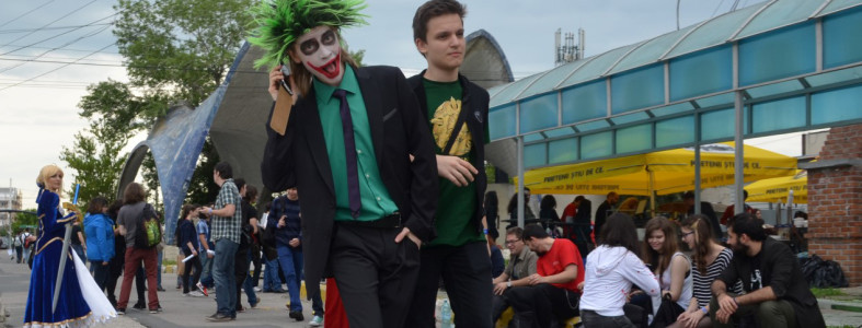 Comic-Con Cosplay Joker
