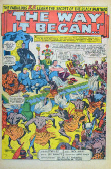 Fantastic Four Origine Black Panther