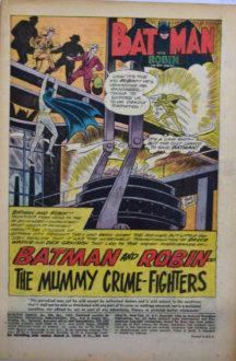 Batman si Robin Mumii