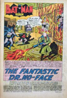 Benzi desenate Batman Dr. No Face