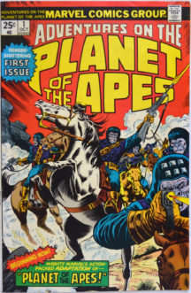 Benzi Desenate Marvel Planeta Maimutelor
