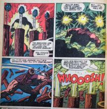 X-Men Juggernaut benzi desenate