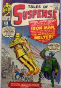 Iron Man benzi desenate Melter costum vechi