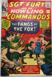 Sergean Fury Commando benzi deseante