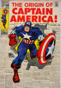 Captain America 109 originea benzi desenate vechi Romania