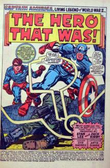 Captain America 109 originea benzi desenate vechi Romania