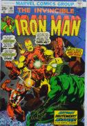 Iron Man benzi desenate vechi