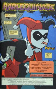 Harley Quinn Gotham Girls miniserie benzi desenate