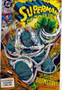 Superman Doomsday 18 Man of Steel benzi desenate