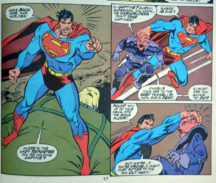 Superman Doomsday 18 Man of Steel benzi desenate