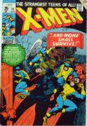 Magneto Uncanny X-Men benzi desenate vechi
