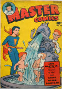 Master Comics Marvel Junior benzi desenate vintage