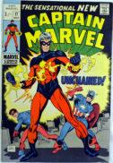 Captain Marvel benzi desenate vechi marvel