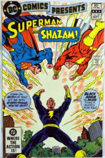 Black Adam shazam Superman