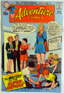 Adventure Comics Supergirl benzi desenate Vintage