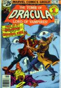 Dracula Marvel benzi desenate vechi