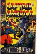 Captain America Benzi desenate vechi red skull