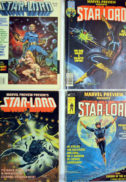 Marvel Preview 4 Starlord prima aparitie banda desenata Guardians of Galaxy
