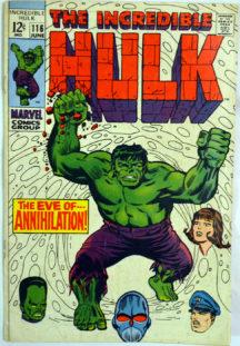 Incredibilul Hulk benzi desenate vechi