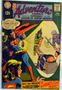Adventure Comics legion of super-heroes benzi desenate vintage