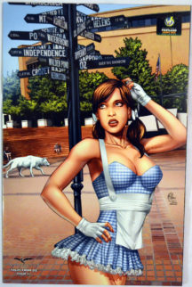 Tales Oz Cover Exclusiv Zenescope sexy