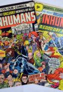 Inhumans benzi desenate