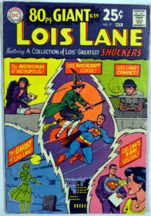 Benzi desenate vechi Lois Lane Giant Issues