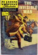 Classics Illustrated Wells Omul Invizibil