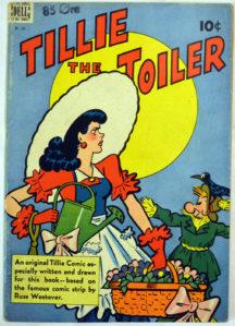 Tillie Toiler benzi desenate gold age vechi vintage